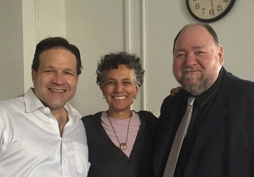 New York City Health Commissioner Dr. Mary Bassett (c) joined Dr. Gary Kreps (r) and me for a PIO360 crisis & media training